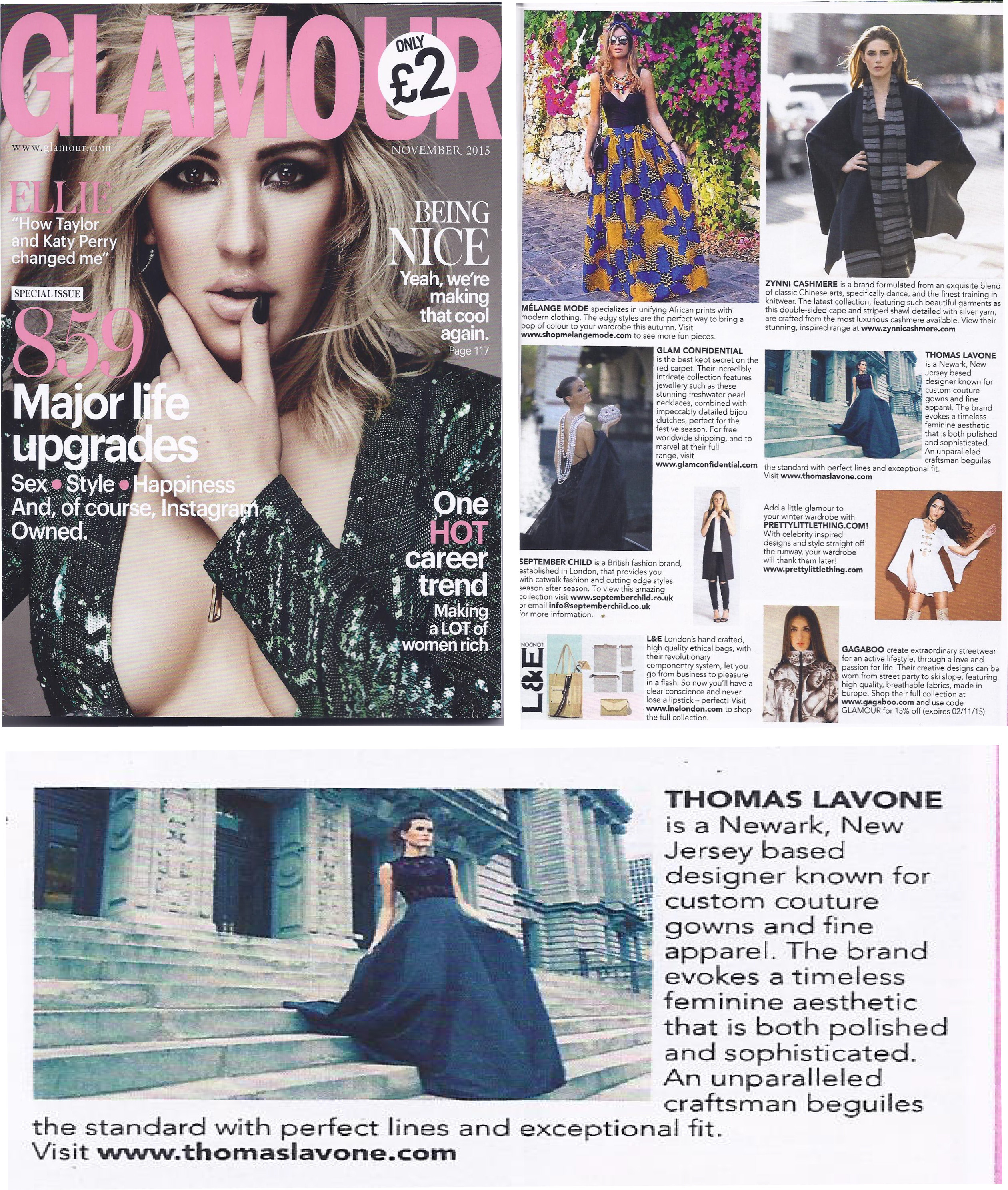 Glamour UK Nov 2015