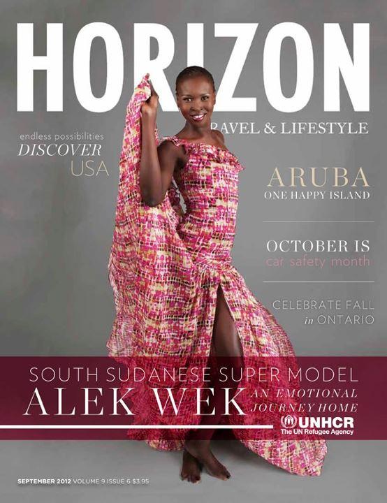 Alex Wek in Horizon Magazine