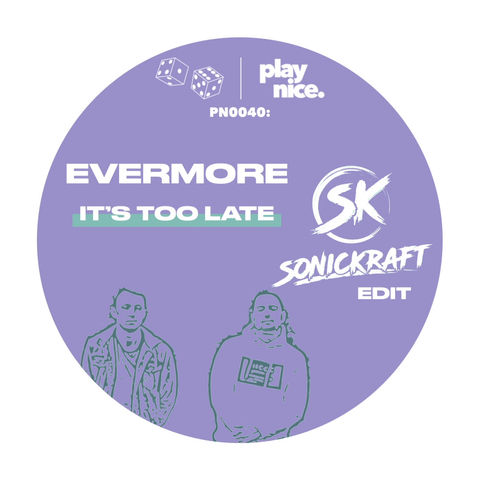 PN0040: Evermore - It's Too Late (Sonickraft Edit) FREE DOWNLOAD🎲🎲