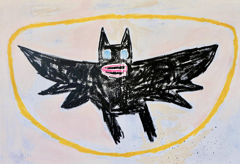 Adam Handler_Bat in Salem_38x56in_2015.j
