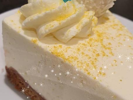 Zitronenquark- Raffaello Torte