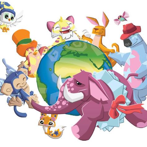 Animal Jam: spot illustration
