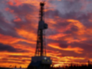 Drilling rig with morning sky.jpg