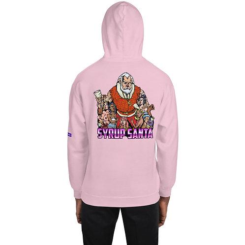 Syrup Santa Unisex Hoodie (PINK - exclusive)