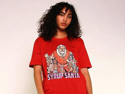 Syrup Santa Unisex T-Shirt (Red)