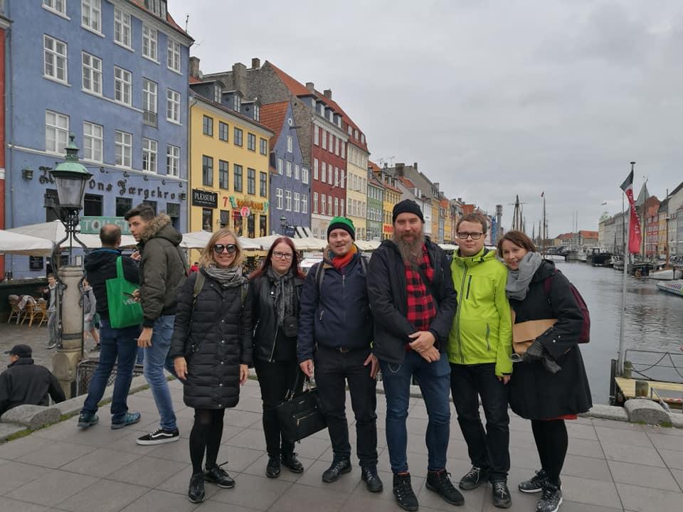 Yhteistyötä Kööpenhaminassa.