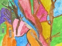 QUAGMIRE- Lasse Rinteen akvarellimaalausten näyttely Nalkalan setlementtitalolla