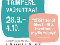 Setlementti Tampereen uusi esittelyvideo ja Tampere vaikuttaa viikko