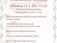 Ystävällinen Kirje Tuntemattomalle -paja 15.1.