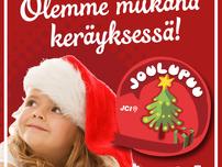 Osallistumme Joulupuu-keräykseen – tule mukaan!
