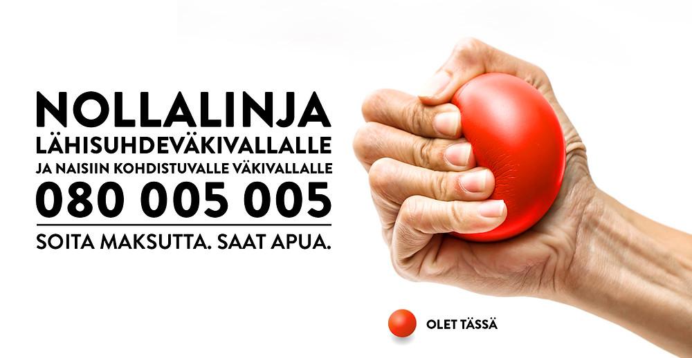Kuvalinkki Nollalinjan verkkosivuille