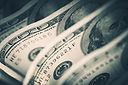 Dollars Closeup Concept. American Dollar