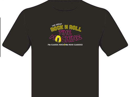 The Great Rock 'N Roll Time Machine T-Shirt (XS-XL)