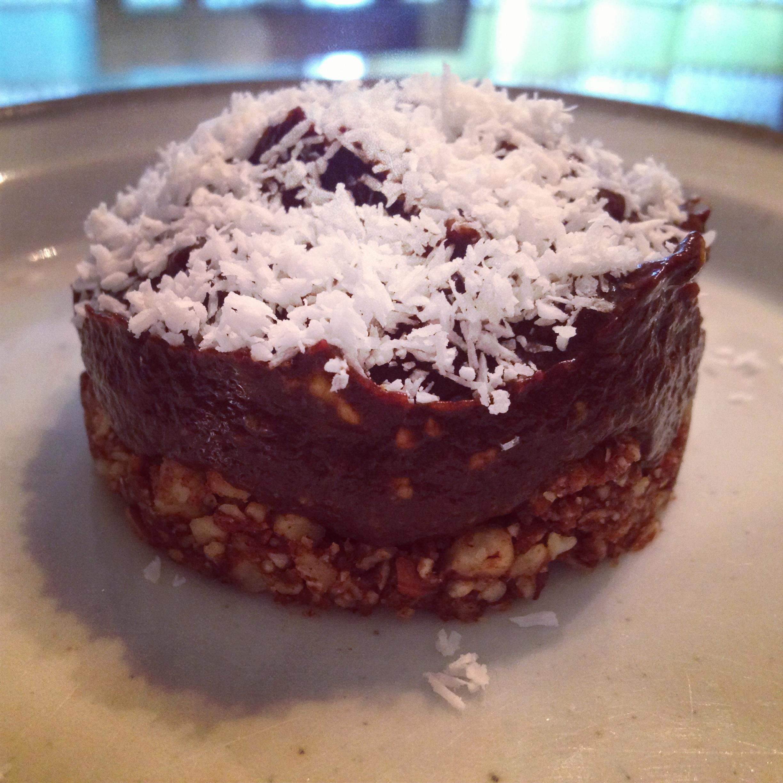 Raw Vegan Black Sapote Pie
