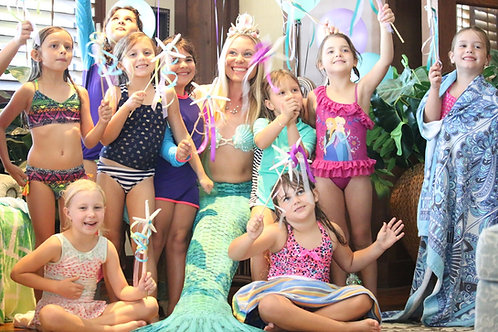 Professional Children's Mermaid Entertainment Deposit