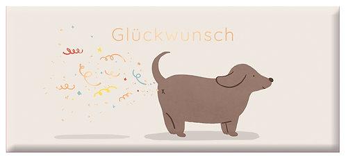 Schoko 30g Kleiner Glückwunsch  - Goldv
