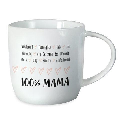 Tasse Gute Laune - 100% Mama