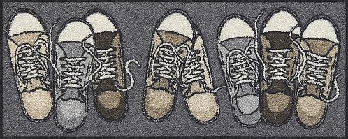 Fußmatte Sneaker waschbar