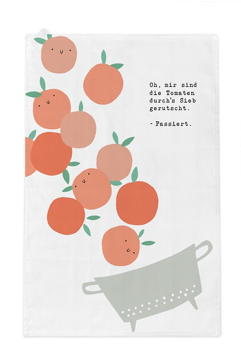 Geschirrtuch Tomaten