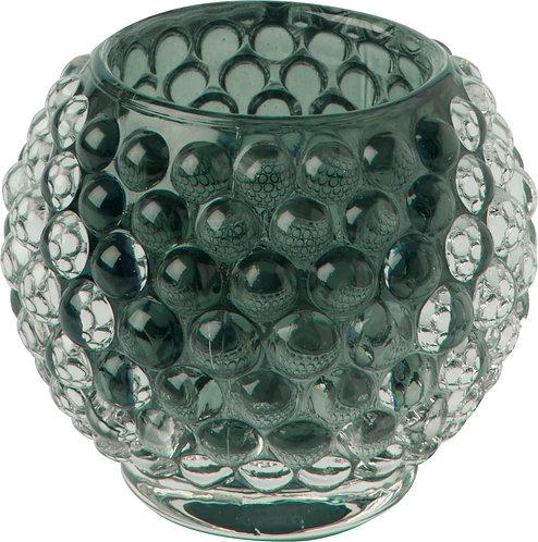 Teelichthalter Glass Candle Holder green
