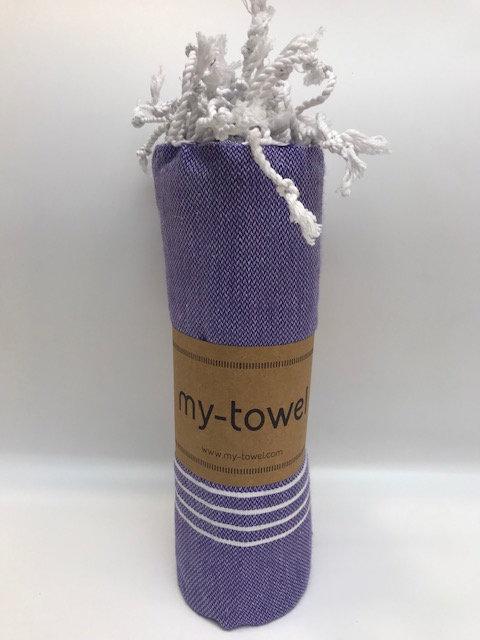 my-towel Hamamtuch Violett