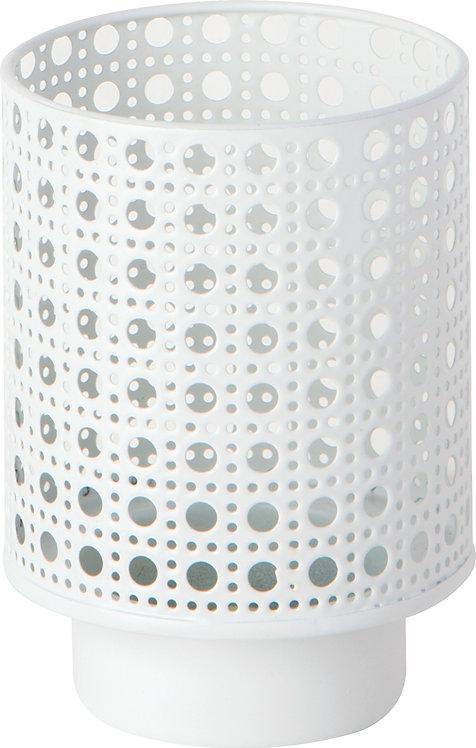 Teelichthalter Candle Holder white