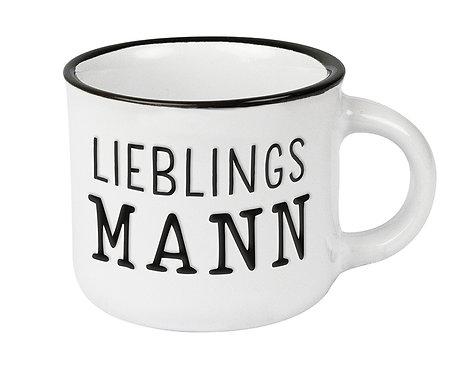 Espresso-Tasse Vintage Lieblingsmann