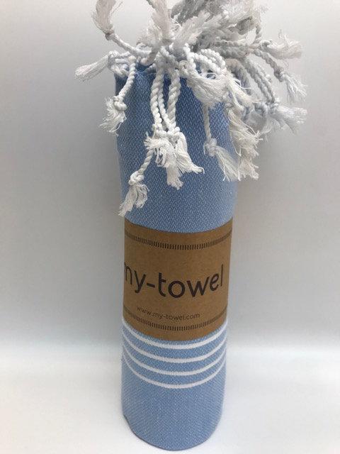 my-towel Hamamtuch Jeans Blau