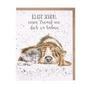 Tierkarten Wrendale Hund und Katze