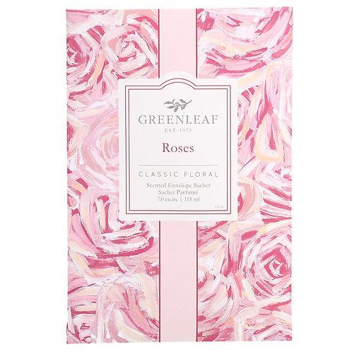 Roses - Greenleaf - Large Sachets