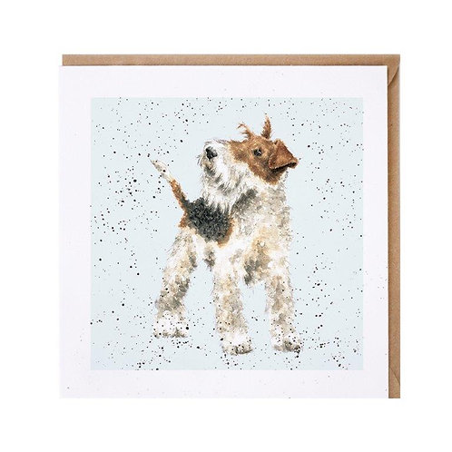 Tierkarten Wrendale Fox Terrier A