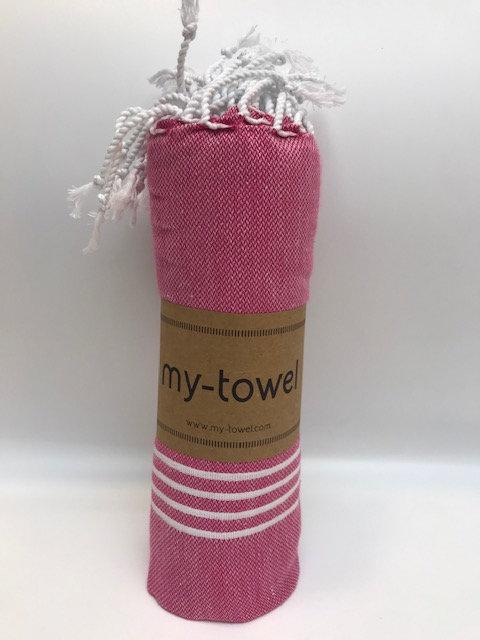 my-towel Hamamtuch Rot