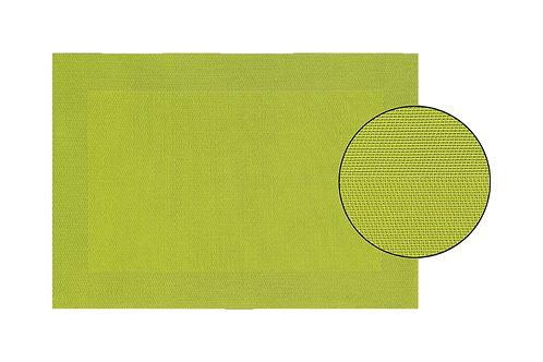 Platzset in lemon grün aus Kunststoff