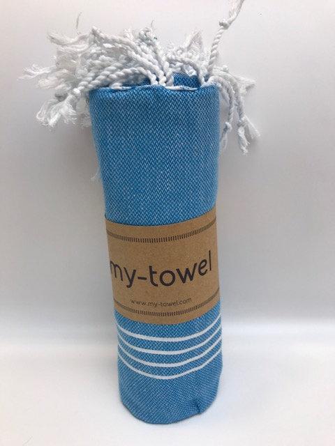 my-towel Hamamtuch Blitzblau