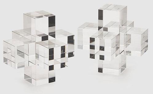 Buchstütze Kristall Set