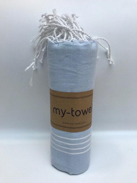 my-towel Hamamtuch Babyblau