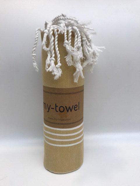 my-towel Hamamtuch Caramel