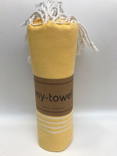 my-towel Hamamtuch Sonnengelb
