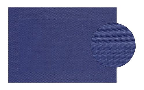 Platzset in blau, fein, aus Kunststoff