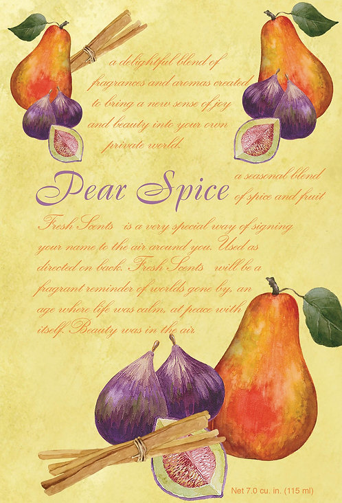 Pear Spice - Fresh Scents - Large Sachets