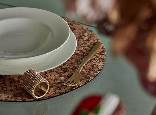 Serviettenring mit Steinen gold D 4,1cm L 4,5cm