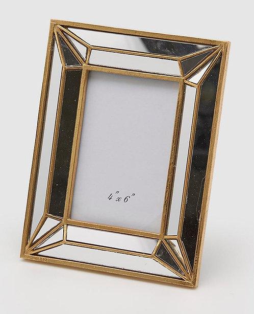 Rahmen gold /Spiegel Glas 25 cm x20 cm