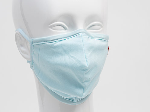 Nano FFP2 Maske hellblau