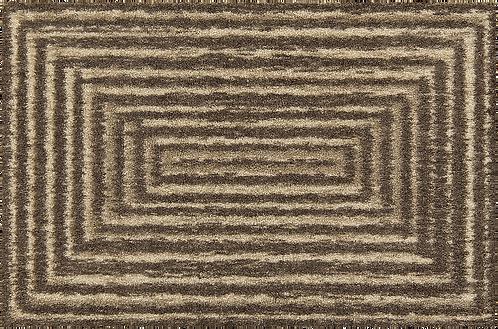 Fußmatte   Braun Stripes  waschbar