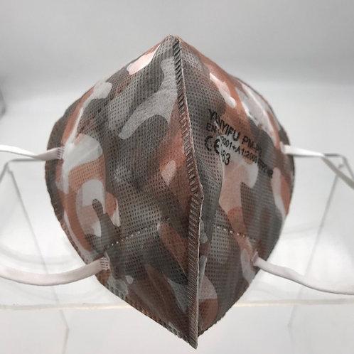 FFP 2 Maske camouflage