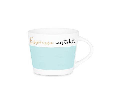 Espresso-Tasse Schreibkram Manufaktur Espresso versteht