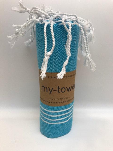 my-towel Hamamtuch  See Blau
