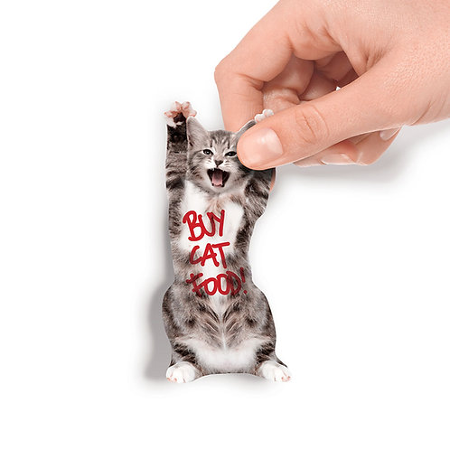Cat in a Box Notizzettel