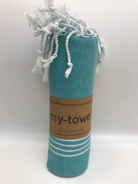 my-towel Hamamtuch Dunkel Türkis