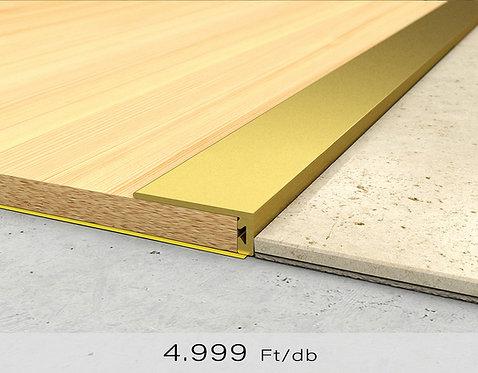 PF 6 Öntapadós lezáró profil 8 x 20 mm Arany 2,7 m